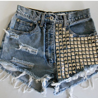 Punk shorts by JuliLand on Etsy
