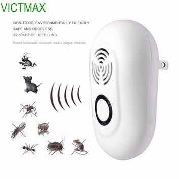 VICTMAX 3W Electronic Ultrasonic Multi-function Pest Repeller