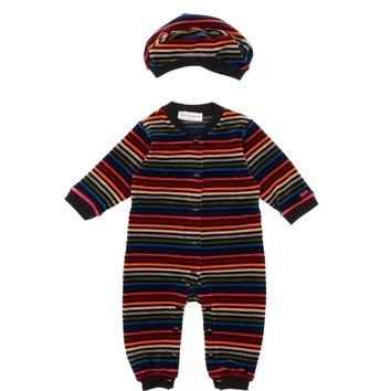 Sonia Rykiel Baby Colorful Striped Velvet Romper and Hat