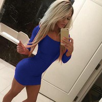 Cute Tight Mini Dress