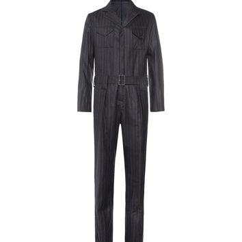 Kingsman - Chalk Striped Wool Siren Suit | MR PORTER