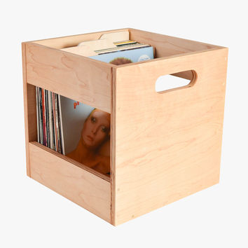 Deep Groove Record Crate