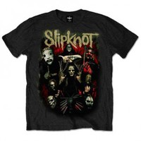 Slipknot Come Play Dying T-shirt - Slipknot - S - Artists/Groups - Rockabilia