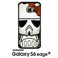Hello Kitty Stormtrooper Samsung Galaxy S6 Edge Plus Case