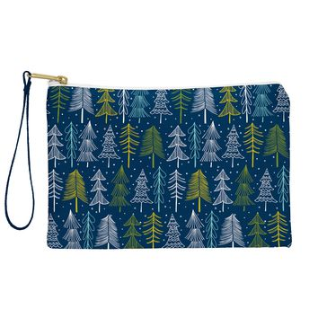 Heather Dutton Oh Christmas Tree Midnight Pouch