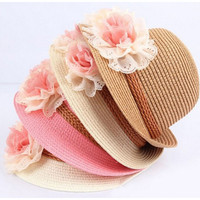 Girl's Summer Sun Hat