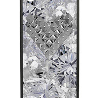 Diamond Silver Studded Heart iPhone 5/5s Case