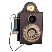 1903 Antique-Style Wall Telephone