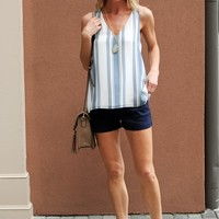 Cute Striped Racerback Tank- Gentle Fawn Cruise Striped Tank-$71.00 | Hand In Pocket Boutique
