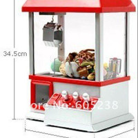 1Piece Retro Carnival Arcade Style Candy Box Candy Grabber Machine Toy Grabber Machine Children Day Game Player