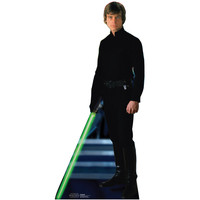 Luke Skywalker Black Cardboard Standup