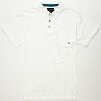Billabong Standard Issue Mens Polo Shirt White  In Sizes
