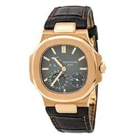Patek Philippe Nautilus Automatic-self-Wind Male Watch 5712R (Certified Pre-Owned)