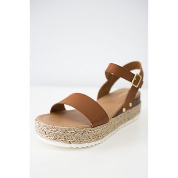 Demi Sandals - Cognac