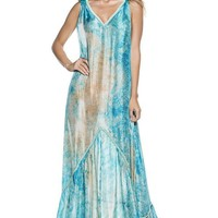 ONDADEMAR Conga Tie Dye Long Dress
