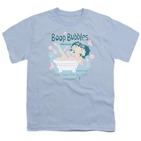 Betty Boop - Boop Bubbles Short Sleeve Youth 18/1