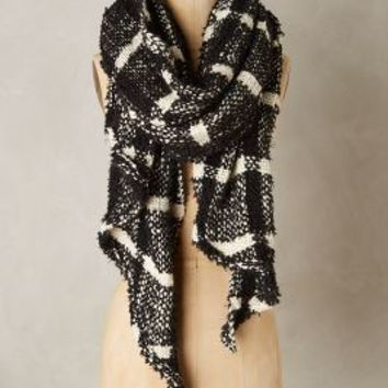Chinchero Scarf by Anthropologie in Black Size: One Size Scarves