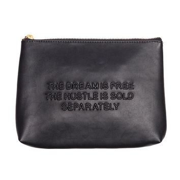 HUSTLE AND DREAM CLUTCH - Accessories - Products