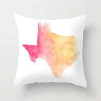 TEXAS IS THE REASON Throw Pillow by Matthew Taylor Wilson