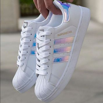 HOT 🔥 Adidas Superstar Holographic Design