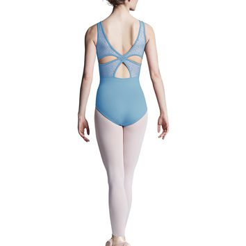 Sweetheart Neck X Back Tank Leotard L8895 by Bloch