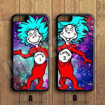 Things 1 and Things 2 Best Friends Forever Couple Case,Custom Case,iPhone 6+/6/5/5S/5C/4S/4