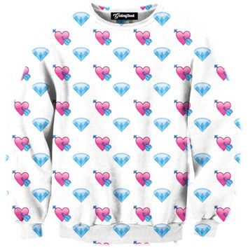 Emoji Diamond Crewneck