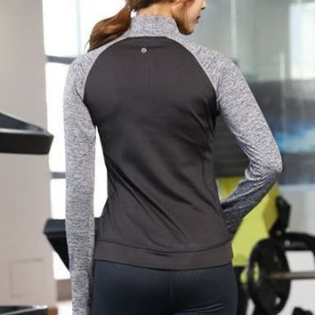 Lululemon Women Fashion Gym Yoga Pullover Shirt Top Tee