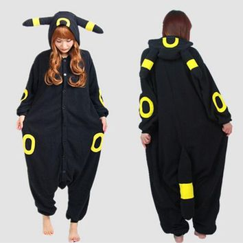 adult Onesuit Adult Umbreon Onesuit Anime  Cosplay Costume Winter   S M L XLKawaii Pokemon go  AT_89_9