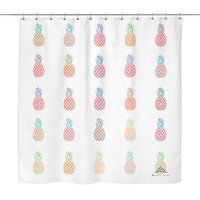 Fresh Pineapple Shower Curtain