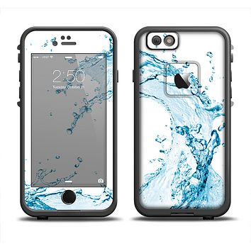 The Water Splashing Wave Apple iPhone 6 LifeProof Fre Case Skin Set