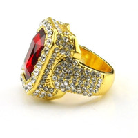 Ruby King Ring