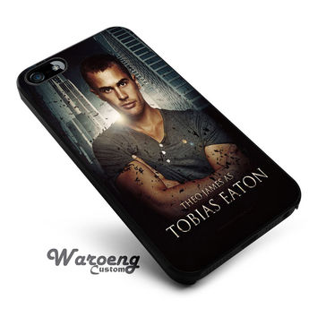 Theo james as Tobias Eaton iPhone 4s iphone 5 iphone 5s iphone 6 case, Samsung s3 samsung s4 samsung s5 note 3 note 4 case, iPod 4 5 Case