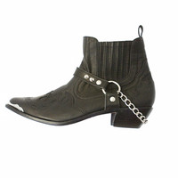 Dakota chain Boots Black - Arnhem Clothing