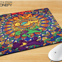 Grateful Dead Tie Dye Tapestry Mousepad Mouse Pad|iPhonefy