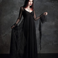 Romantic Gothic Dress: Juliet Gown by Rose Mortem