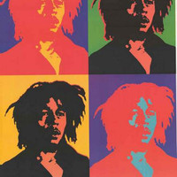 Bob Marley Pop Art Poster 22x34