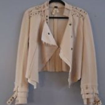Boiled Wool Jacket (Free People)