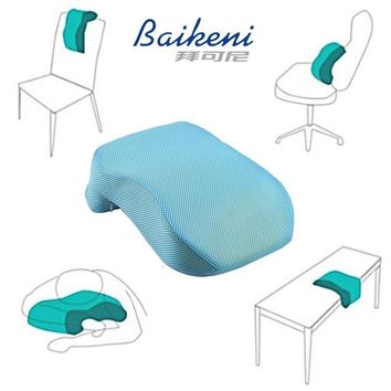 Breathable Multi function Nap Pillow Memory Foam Slow Rebound Lunch Break Pillow For Desk Sleeping Soft Lumbar Cushion In Office