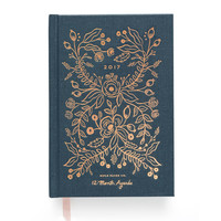 2017 Rifle Paper Co. Everyday 12 Month Planner - Midnight Blue (PRE-ORDER)