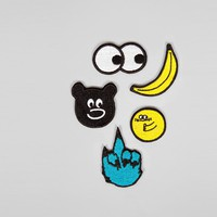 Lazy Oaf Yellow Patch Pack - View all - NEW IN - Mens
