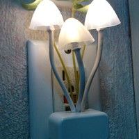 Color Changing Mushroom Night Light