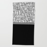 pola v.3 Beach Towel by Trebam