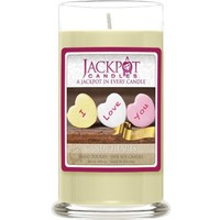 Jackpot Candles Valentine Candy Hearts Jewelry Candle