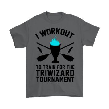 KUYOU I Workout To Train For The Triwizard Tournament Shirts