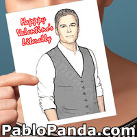 Valentines Day Card | Parks And Recreation | Parks And Rec Valentines Day Gift Funny Valentine Anniversary Chris Traeger Card For Husband