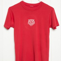 CARSON TIGER EMBROIDERY TOP