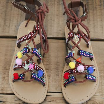 Girls Gypsy Spell Sandals