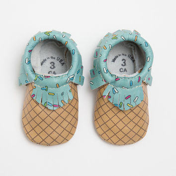 Scoop of Mint - FP x Beloved Moccasins