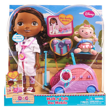 Disney Jr. Doc McStuffins Walk N Talk Doc Mobile